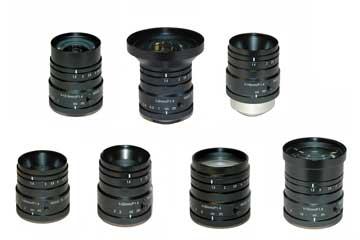 High resolution megapixel vari focal lenses for FA factory